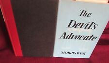 The Devil's Advocate by Morris West.  UNread  1960 HbDj  Celibacy Homosexuality