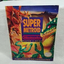 ⭐Official Nintendo Super Metroid Player's Guide Strategy Book⭐👀