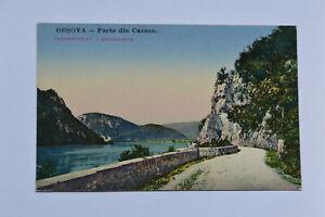 old Postcard Orsova Parte din Cazane
