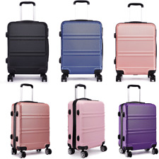 28 inch Large Lightweight Suitcase Spinning Wheel Luggage Trolley Travel Case