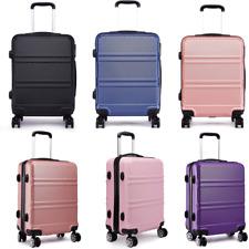 Medium Lightweight Suitcase Spinning Wheel Luggage Trolley Travel Case 24 inch