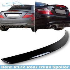 STOCK IN USA ▶ For Benz SLK R172 AM-Style Trunk Spoiler Paint 197 Obsidian Black