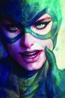 CATWOMAN #13 ARTGERM SDCC EXCLUSIVE FOIL EDITION NM JOKER BATMAN HARLEY IVY DC