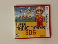 Super Mario Maker (Nintendo 3DS) XL 2DS Game w/Case Authentic
