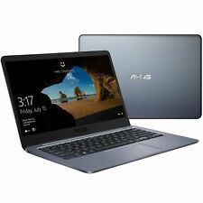 "New Asus 14"" Thin & Light Laptop/Intel Dual-core/4GB/64GB/Bluetooth/HDMI/Win10"