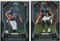 2018 PANINI PRIZM Riley Ridley Kyle Fuller Chicago Bears 2 CARD LOT RETAIL
