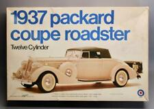 1/16 Entex Bandai 1937 Packard Roadster Coupe 12 Cylinder Model Kit • Unbuilt