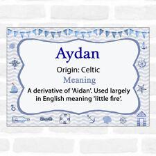 Aydan Name Meaning Nautical Certificate