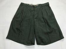 Mens Tommy Bahama Silk Shorts SIZE 33 Green