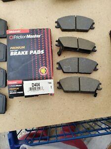 Disc Brake Pad-Front Premium Friction Master fits 87-88 Hyundai Excel NOS