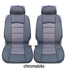 Premium GRIS-NOIR Comfort rembourré Housse de siège / selle pour RENAULT MEGANE