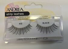 Andrea's Strip Lashes Fashion Eye Lash Style 45 Black - (Pack of 4)