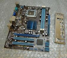 Asus P5G41T-M LX2/GB REV. 1.03G Socket 775 motherboard completa con la placa trasera