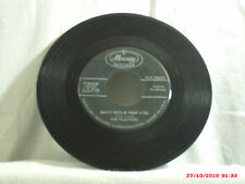 THE PLATTERS-(45)-SMOKE GETS IN YOUR EYES/NO MATTER WHAT YOU ARE -MERCURY - 1958