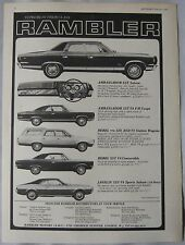 1968 Rambler Motors Original advert