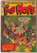 NATIONAL DC Comics G BOB HOPE ADVENTURES OF  #16 1952 cent copy