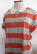 NWT Tommy Hilfiger Striped Short Sleeve Polo Shirt Size XXL