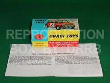 Corgi #321 Monte Carlo Mini Cooper (#2) - Reproduction Box by DRRB