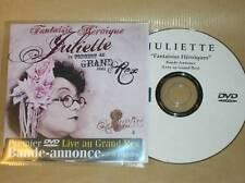 RARE DVD PROMO 6 MINUTES / JULIETTE AU GRAND REX / FANTAISIE HEROIQUE / BON ETAT