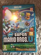 New Super Mario Bros Nintendo Wii U Game