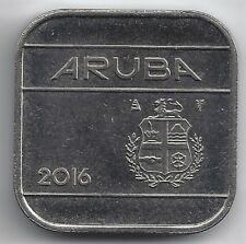ARUBA  50 cent 2016. Muntmeesterteken MET STER