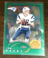 2002 Topps Chrome Tom Brady Weekly Wrap Up #150 Patriots Bucs Super Bowl!!