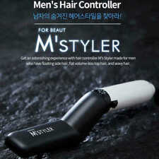 New M Styler Men's All In One Ceramic Hair Styling Iron Comb Straightener 220V