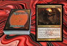 RAKDOS, LORD OF RIOTS Magic The Gathering EDH Deck MTG - MASSIVE DAMAGE