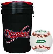 30 - Diamond Sports Baseball & Ball Bucket Combo Dol-1 Hs High School Nfhs