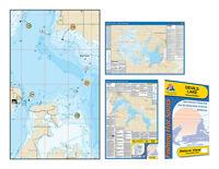 Waterproof GPS Points Depth #L187 Lake Shelbyville Detailed Fishing Map