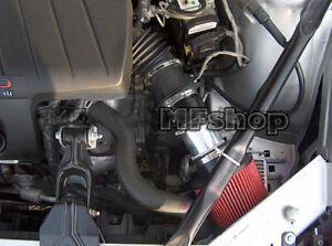 Black Red For 2000-2003 Pontiac Grand Prix 3.1L 3.4L V6 Air Intake Kit + Filter