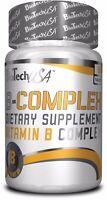 Biotech USA B-Complex 60/120 tab MULTIVITAMIN HERBAL FREE WORLD SHIPPING !