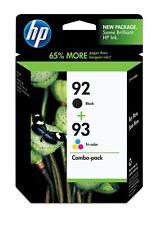 GENUINE HP 92 93(C9513F) Black Tri_Color Ink to 5440 C3135 C3180 7850 1507 1510
