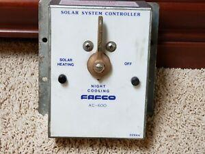 FAFCO AC-600 Solar System Controller Valve Pool Heater Spa