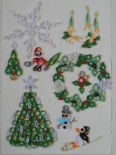 Quilling Designs for Christmas 2