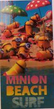 Strandtuch Minion Beach Surf Minions Badetuch, Handtuch 100% Baumwolle Neuware