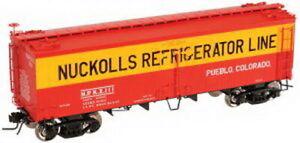 Atlas 61411 HO Nuckolls Refg.Lines 36' Wood Reefer #111 NIB