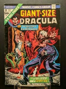 Giant-Size Dracula #2 VF- 1974 Marvel Comics