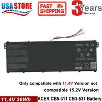 AC14B3K AC14B18J Battery for Acer Chromebook CB3-531 CB5-571 CB3-111 C810 C910