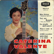 CATERINA VALENTE TOI, TOI ROMEO FRENCH ORIG EP JO BOYER / WERNER MÜLLER