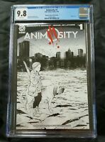 ANIMOSITY #1 9.8 CGC BLINDBOX SKETCH VARIANT LIMITED ONLY 100 MADE MOVIE COMING