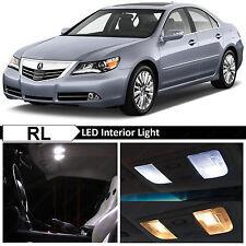 15x White Interior LED Lights Package Kit for 2005-2012 Acura RL