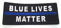 BLUE LIVES MATTER Law Enforcement Hero Patch P5070 E