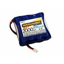 Overlander Eneloop 2000 4.8v AA NiMH Tx Transmitter Battery Pack Flat DX7s/DX8 (