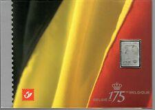 Belgium 2005 - 175 year anniversary folder with silver stamp MNH