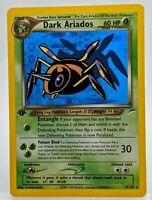 Dark Ariados 17/105 Rare 1st Edition Near Mint Neo Destiny Pokemon Card 🕷️