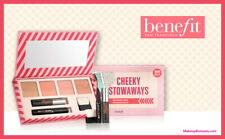 BENEFIT Cheeky Stowaways high-flying box o'beauty Travel Set - New & Genuine