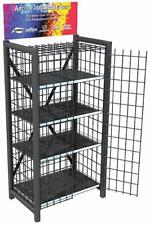 Heavy Duty Retail Metal Display Cage  - 4 Shelves #8704 (NO DOORS)