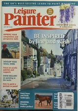 Leisure Painter UK July 2017 Be Inspired By Line and Wash Draw FREE SHIPPING sb