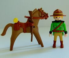 Playmobil Canadian Mounted Forest Ranger Figure & Horse